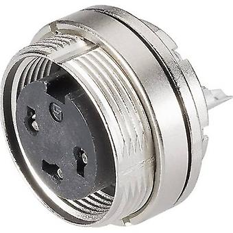 Nide 09-0108-80-03 sarjan 723 miniatyyri pyöreä liitin nimellisvirrasta (tiedot): 7 A nastojen määrä: 3 DIN