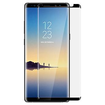 Screen protector for Galaxy Note 8, Tempered Glass with black edges