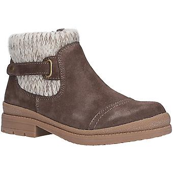 Fleet & Foster Womens Rummy Leather Winter Casual Ankle Boots