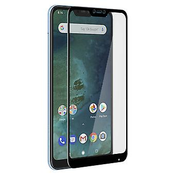 Screen protector for Xiaomi Mi A2 Lite, Tempered Glass with black edges