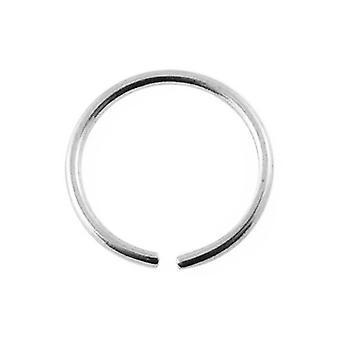 Neus hoepel Ring 14Ct witgoud, Piercing lichaam sieraden