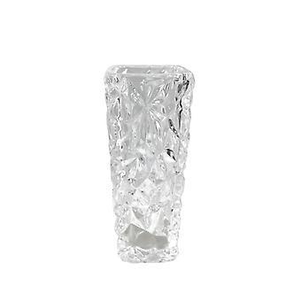 Vase klart glass H15 cm