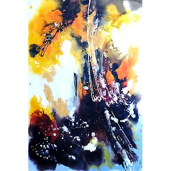 60x90 cm oil painting on canvas