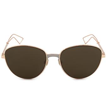 Christian Dior lunettes de soleil ovale Ultra RCXEC 56