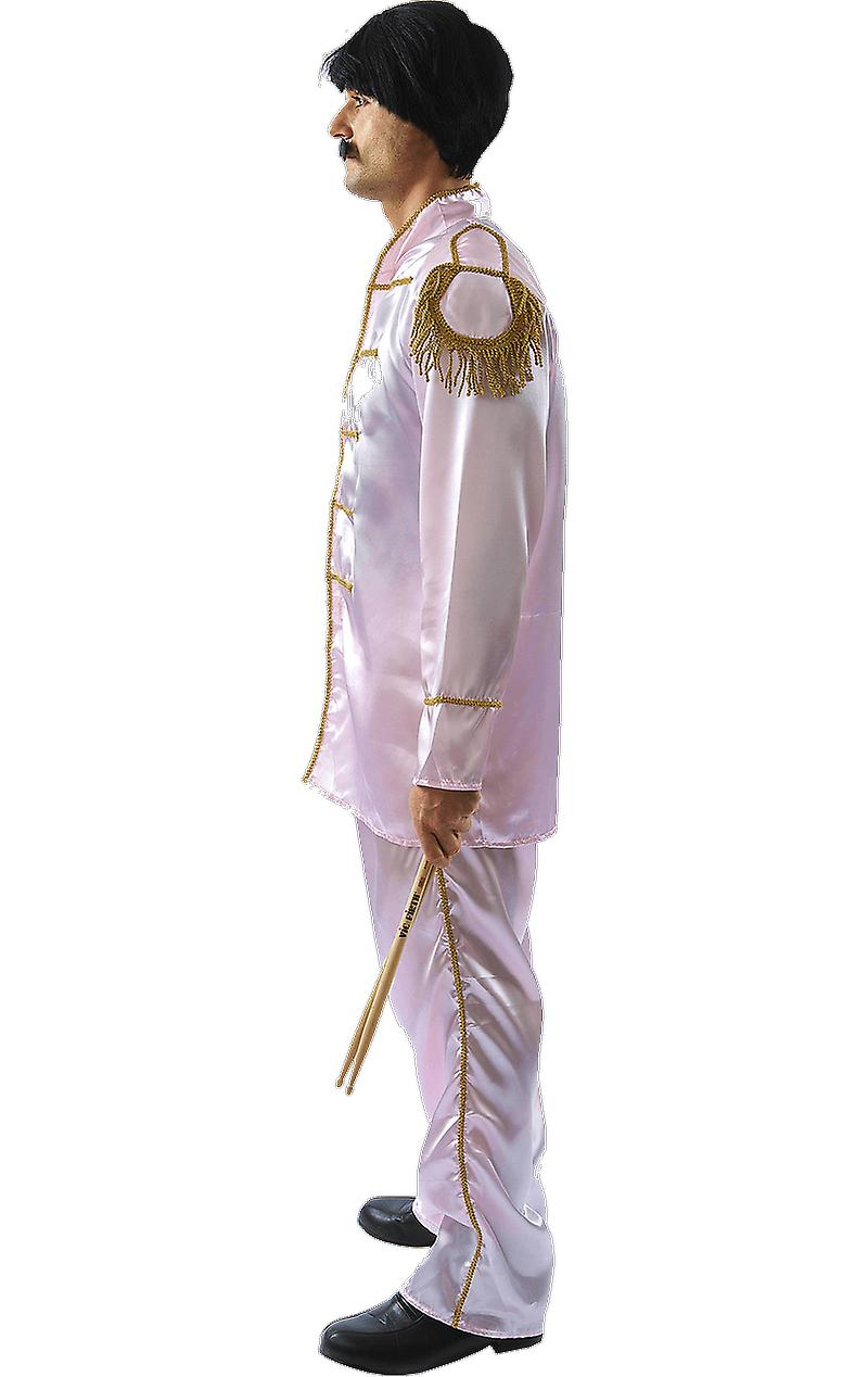 Orion Costumes Mens The Beatles Rock 60s Band Fancy Dress Costume Pink