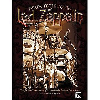 Bęben techniki Led Zeppelin