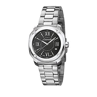 Wenger Quartz Analog Unisex Adult with stainless steel strap Edge Romans No: 01.1121.109