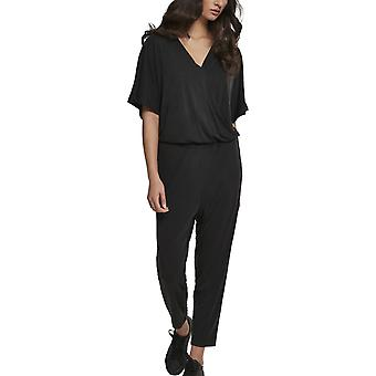 Urban classics ladies - MODAL jumpsuit black