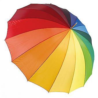 Drizzles Rainbow Golf Umbrella