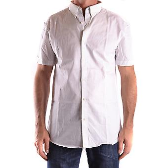 Selected Homme Ezbc157001 Men's White Cotton Shirt