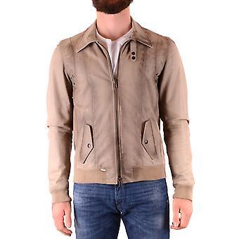 S.w.o.r.d 6.6.44 Ezbc197002 Men-apos;s Veste beige en cuir extérieur