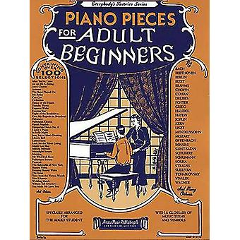 Piano Pieces for Adult Beginners by Amy Appleby - Hal Leonard Publish