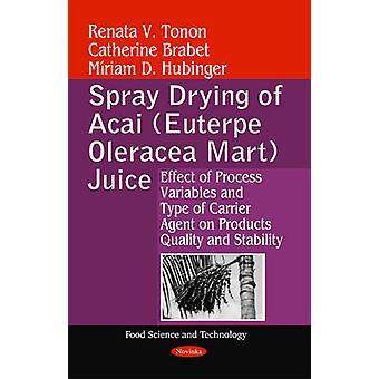 Spray Drying of Acai (Euterpe Oleracea Mart) Juice - Effect of Process