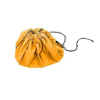 Stor 150cm vatten tålig 2 i 1 spela matta leksak förvarings väska-orange