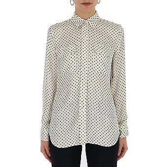 Equipment 185004058e231naturewhiteeclipse Women's White Silk Shirt