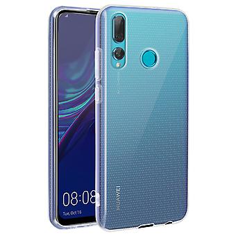Huawei P Smart Plus 2019 Silicone Gel Case + Tempered Glass Film 4Smarts
