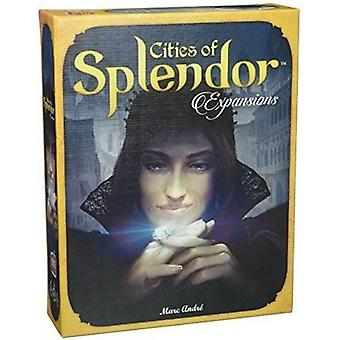 Space Cowboys Cities of Splendor Expansion Board Game - 4 Expansions in a Box