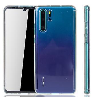 Huawei P30 Pro geval geval telefoon cover beschermhoes 360 Fullcover Armor film