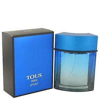 Tous man sport door Tous Eau de Toilette Spray 3,4 oz (mannen) V728-478913