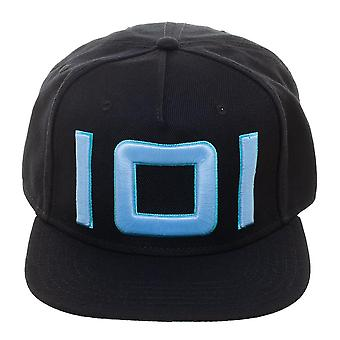 Baseball Cap - Ready Player One - Blue Glow in the Dark Thread Black Snapback New sb6aqdrpo
