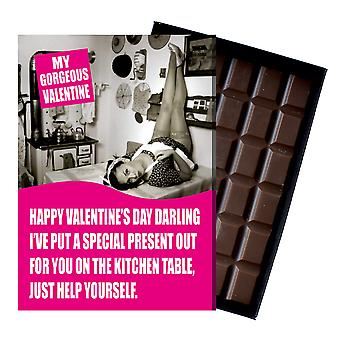 Funny Valentines Day Gifts For Boyfriend Husband Man Rude Chocolate Greeting Card Present NDL103