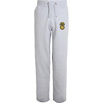 Royal Northumberland Fusiliers-licenciado British Army bordados abertos hem Sweatpants/jogging Bottoms