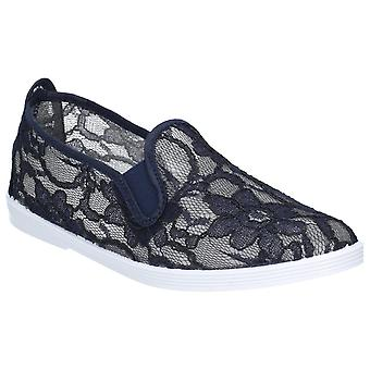 Flossy Womens Bimba Slip On Shoe Navy