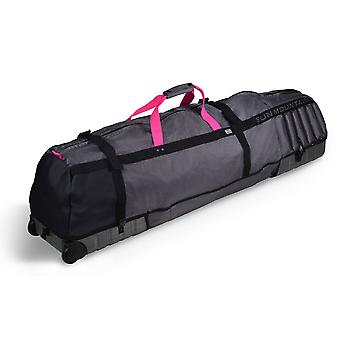 Sun Mountain Kube Padded Golf Wheeled Travel Flight Cover Graphite Pink