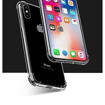 Hibrid eset kristály tiszta ütésálló fed részére iPhone XS