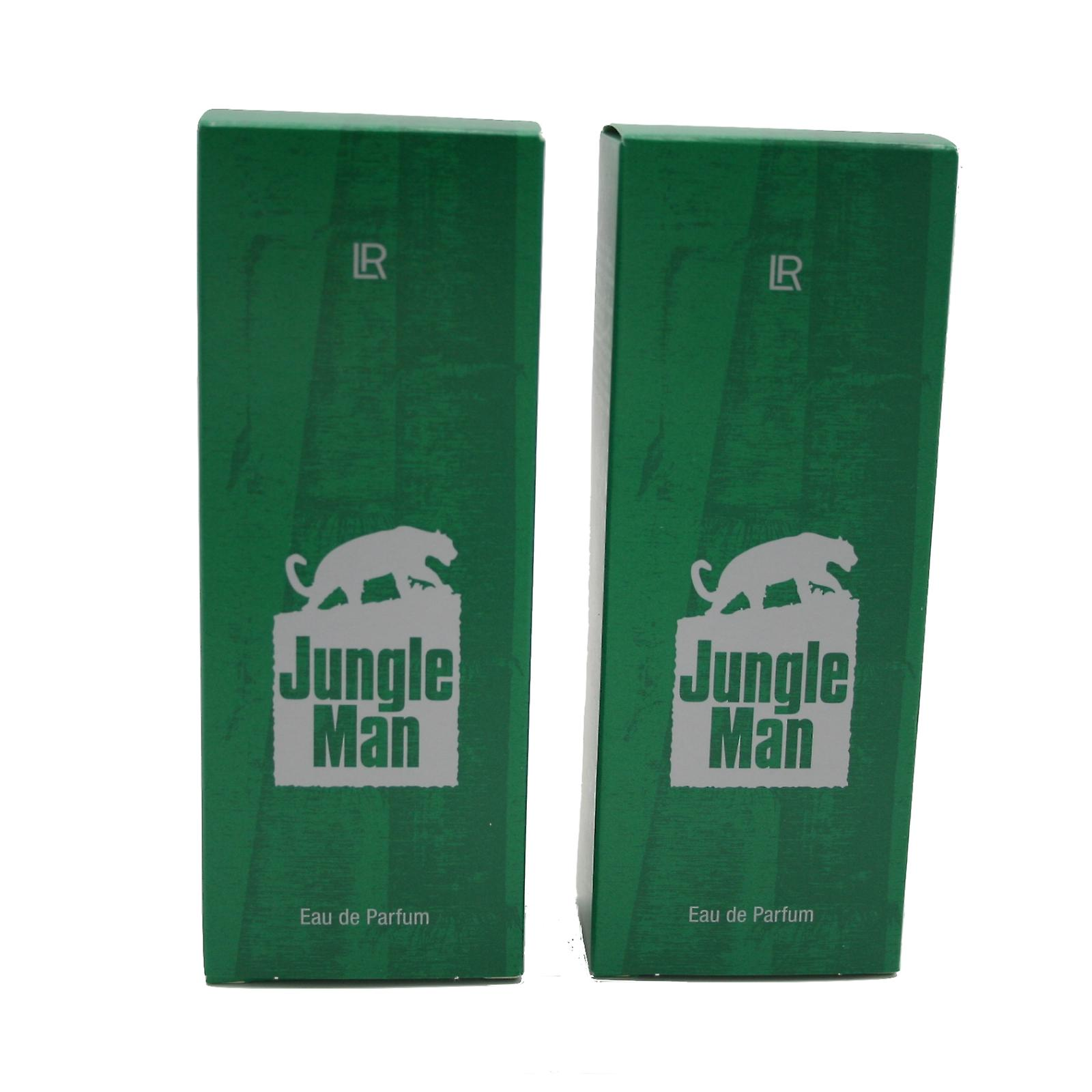 Due bottiglie di LR Jungle Man Eau de Parfum
