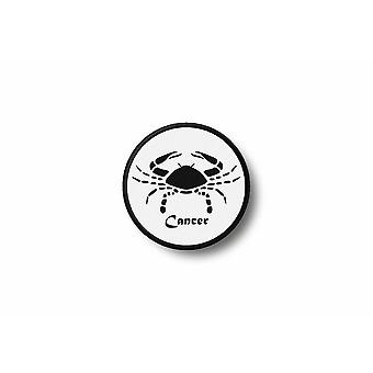 Patch badge Ecusson Brode prints Thermo collant teken Zodiac Cancer