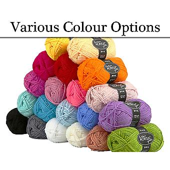 80m Acrylic Wool for Kids Arts Crafts