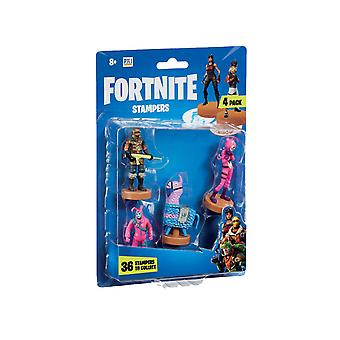 Fortnite FRT24000 Stampers 4 Pack-Series 1 (Characters Sent at Random)