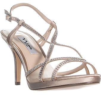 Nina Womens Blossom - JS Fabric Open Toe Special Occasion Slingback Sandals