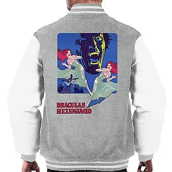 Hammer Horror Films Twins Of Evil German Title Men's Varsity Jacket