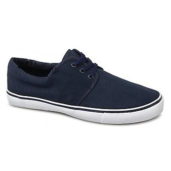 Mirak Yacht Unisex Canvas Lace Up Shoes Navy