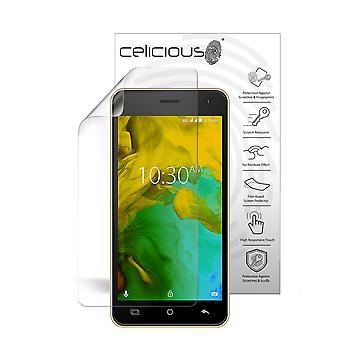 Celicious Vivid Plus Mild Anti-Glare Screen Protector Film Compatible with Karbonn K9 Smart Yuva [Pack of 2]