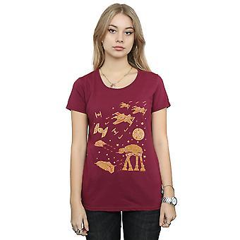 Star Wars Women's Gingerbread Battle T-Shirt