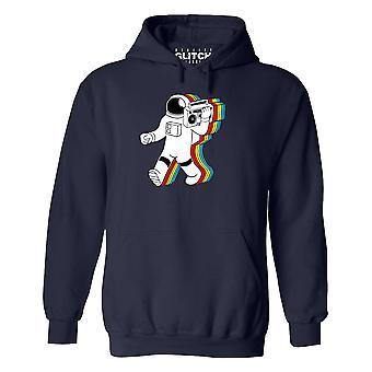 Men-apos;s funky spaceman hoodie