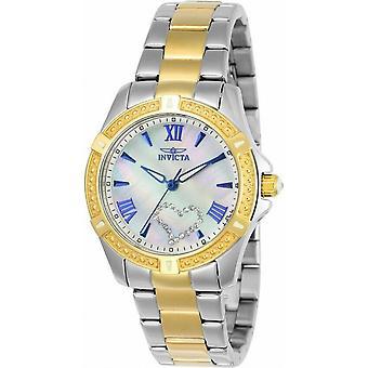 Invicta Angel 23656 Diamant Akzente Quarz Frauen's Uhr