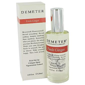 Demeter Demeter tuore inkivääri Köln Spray 4 oz/120 ml (naisten)