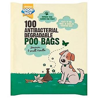 Goede jongen degradable hond Poo tassen (34 packs)