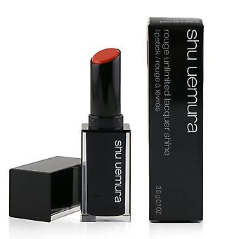 Shu Uemura Rouge Unlimited Lacquer Shine Lipstick - # Ls Or 552 - 3g/0.1oz