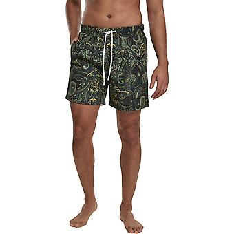 Urban Classics - PAISLEY Swim Shorts multi