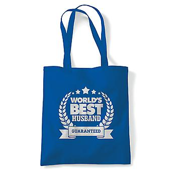 World's Best Husband, Tote - Reusable Shopping Canvas Bag Gift