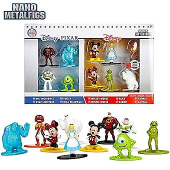 Nano Metallfeigen Disney Pixar 10 Pack Mickey Minnie Lightyear
