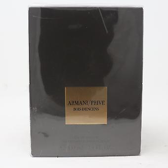 Armani Prive Bois D'encens by Giorgio Armani Eau De Parfum 3.4oz New With Box