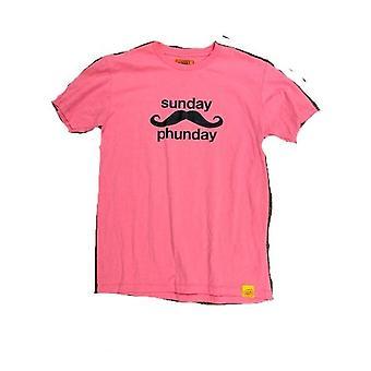 Team phun sunday phunday tee shirt pink