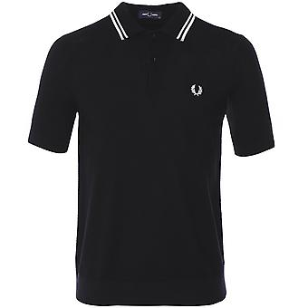 Fred Perry Textured Knitted Shirt K8517 102