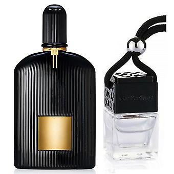 Tom Ford Black Orchid For Him Inspired Fragrance 8ml Black Lid Bouteille suspendu Véhicule auto air assainisseur